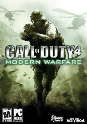 【傳說企業社】PCGAME-Call of Duty 4:Modern Warfare 決勝時刻4:現代戰爭(英文版)