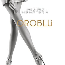°☆就要襪☆°全新義大利品牌 OROBLU MAKE UP 極致超薄亞光透明絲襪(10DEN)