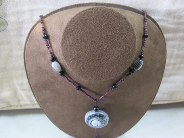 二手舖 NO.3189 天眼珠項鍊 手鍊 項鍊 手珠 首飾飾品