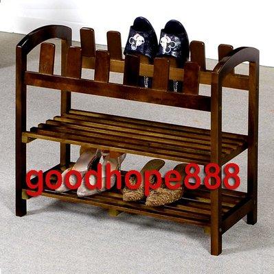 [自然傢俱坊]松河-二層實木鞋架/收納鞋插架/鞋架附鞋插/置物鞋架/儲物鞋架/雜物鞋插架/工具鞋架/-WGT-8439