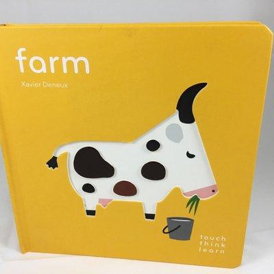 Touch Think Learn 立體觸摸書___Farms