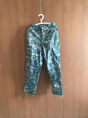 美軍公發二手品 M號 數位迷彩 軍用 長褲 古著 Medium Regular US ARMY (BD239)