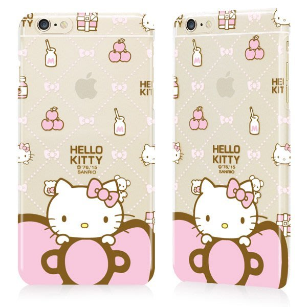 GARMMA Hello Kitty iPhone 6/6S 4.7吋保護硬殼-甜美款