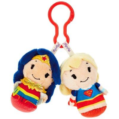 預購 美國 Hallmark 可愛經典神力女超人+超人 包包掛飾 鑰匙圈 娃娃 吊飾 掛飾 絨毛娃娃
