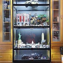 Lego Batman侏羅紀公園 專業玻璃飾櫃 玩具展示櫃 歡迎訂造 Whatsapp-61288234或到油麻地陳列室現時點shop 275!