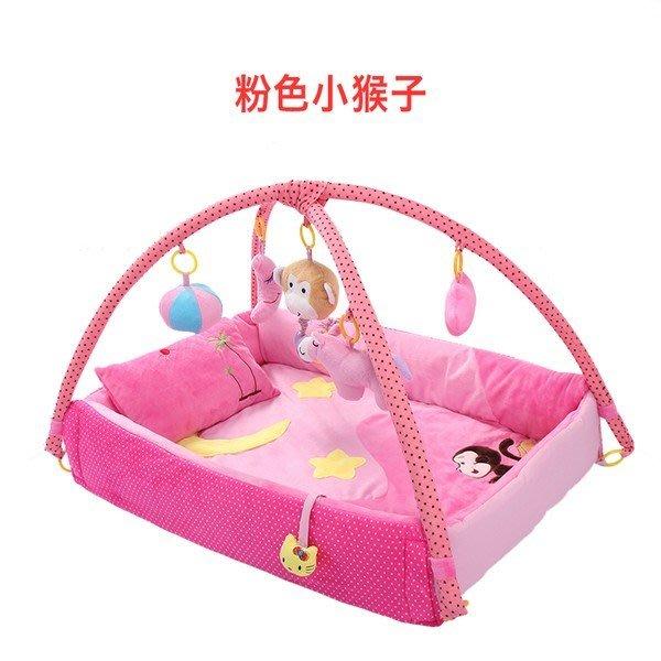 嬰兒禮盒套裝新生兒禮物剛出生寶寶滿月送禮音樂遊戲床玩具健身毯