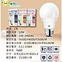 ✦附發票✦30顆超取免運【LED 12W球泡】護眼 台灣優質大品牌 高亮度 限量促銷 LED燈泡 無藍光 自然光 CNS