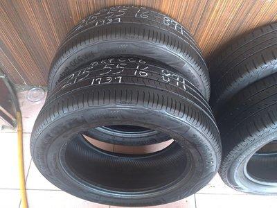 215 55 R 16 德國馬牌CC6 17年37週製造 9成新 落地胎 二手 中古 輪 胎 一輪1800元