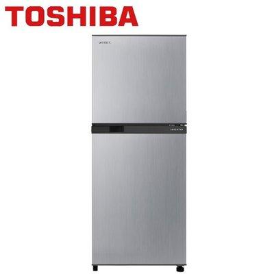 TOSHIBA東芝 192公升 一級能效 變頻雙門電冰箱 GR-A25TS(S)典雅銀