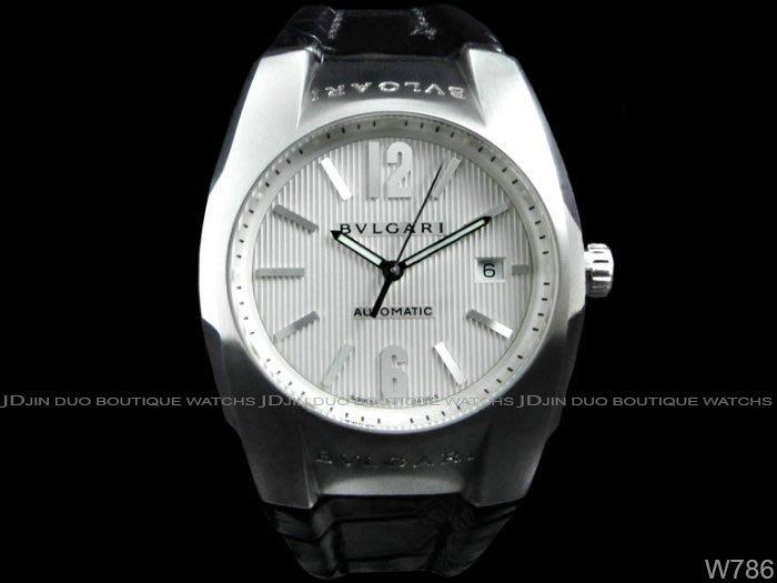 金鐸精品~W786 BVLGARI 寶格麗 Ergon 40mm大錶徑 自動上鍊 男用腕錶