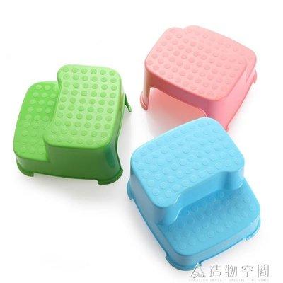 寶貝兒童加厚凳子寶寶墊腳凳塑料凳階梯型凳子踩腳耐摔
