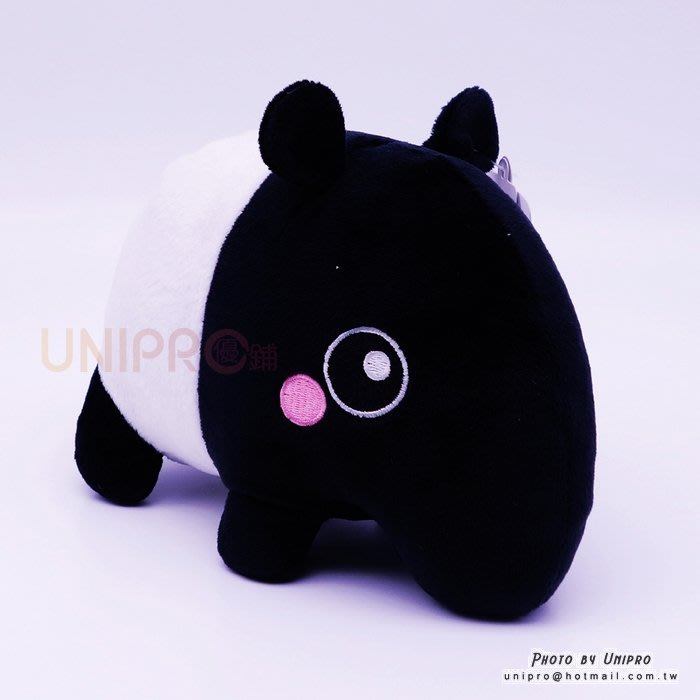【UNIPRO】水汪汪眼 QQ 馬來貘 馬來饃 馬來魔 15公分 Q版 絨毛娃娃 玩偶