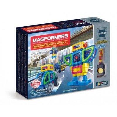 MAGFORMERS® 遙控步行機械人45件組WALKING ROBOT CAR 45PC SET