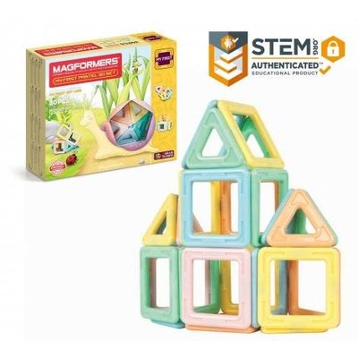MAGFORMERS 磁鐵玩具30pc MY FIRST PASTEL 30PC SET