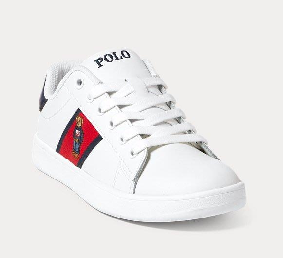 Polo Ralph Lauren 限量polo bear熊熊 運動鞋 休閒鞋 青年款