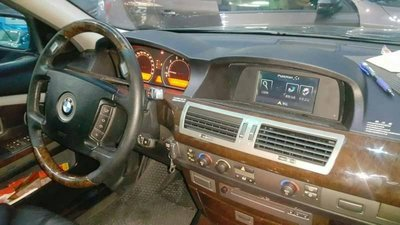[樂克影音] BMW  E65/E66 大7  媒體擴充介面+觸控衛星導航  PAPAGO S1  永久更新