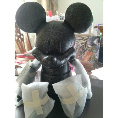 *現貨在美* Disney x Coach F59151 Mickey 限量聯名款 小型娃娃 暗黑玩偶 黑公仔 保證正品