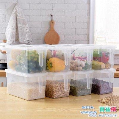 日式冰箱收納盒塑料水果保鮮盒廚房收納盒雞蛋盒儲物密封盒整理箱【聖誕特惠】JY