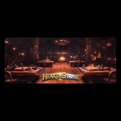 【丹】暴雪商城_2018 暴雪嘉年華 Hearthstone Tavern Gaming Desk 爐石戰記 滑鼠墊