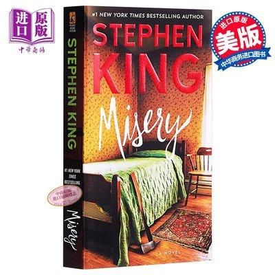 危情十日斯蒂芬.金 頭號書迷 英文原版 Misery Stephen King 推理與驚悚小說 書籍