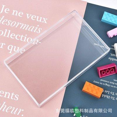 小滿~全透明ps塑料盒長方形燕窩禮品盒首飾展示155X95X25天地蓋包裝盒#規格不同 價格不同#
