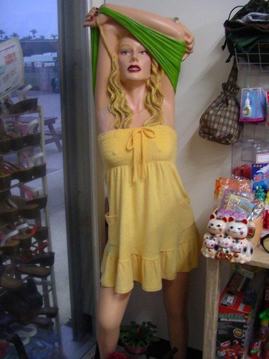 美國妞人形模特兒
