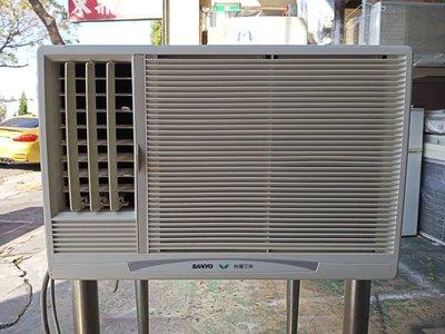 非凡二手家具 【全館自取價 】三洋1噸窗型冷氣*型號:SA-L22A *保固三個月*窗型冷氣*三洋冷氣*二手冷氣
