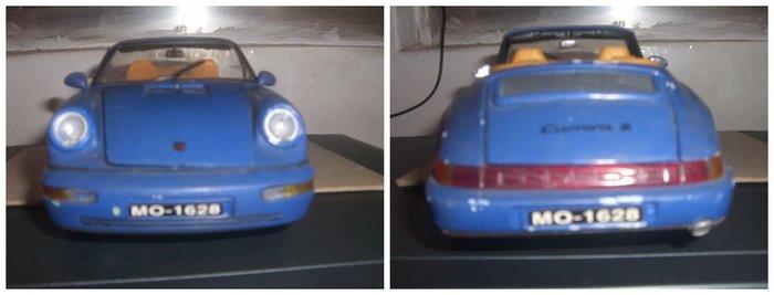 汽車模型保時捷 看物品說明