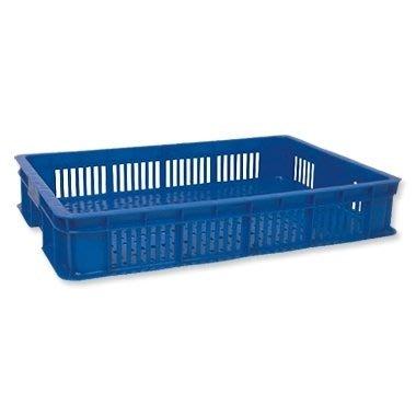 哈哈商城 製 一格 搬運箱  外把手 1010  ~ 塑膠 搬運箱 工廠 貨運 物流 周轉箱 收納 管理 分類