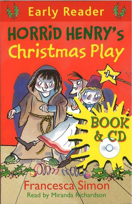 *小貝比的家*HORRID HENRY'S CHRISTMAS PLAY /平裝書+CD/7~12歲