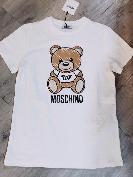 MOSCHINO 可愛熊 kids t恤 童10A~14A 真品保證(缺貨)