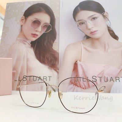 Jill Stuart  黑-金雙色鈦金屬圓框眼鏡 簡約線條質感 性感又率性的風格 亮眼自信  令人耳目一新的設計品味 JS70051