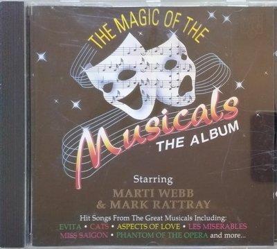 《絕版專賣》The Magic of The Musicals  / 魅力百老匯 (1994 歐版.無IFPI)