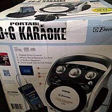 卡拉OK播放機 伴唱機 手提式CD播放 麥克風 音響 CD播放機 CDG karaoke