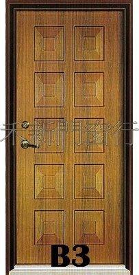 【禾新】B3{單玄關}房間門/塑鋼門/廚房門/浴室門/木門/拉門/雙玄關/實木門/硫化銅門/木纖門