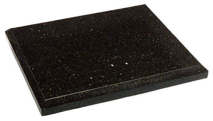 【林口豪韻豪韻音響】ZY971 天然黑金石音響墊材 喇叭墊材 使用厚度3cm印度黑金石