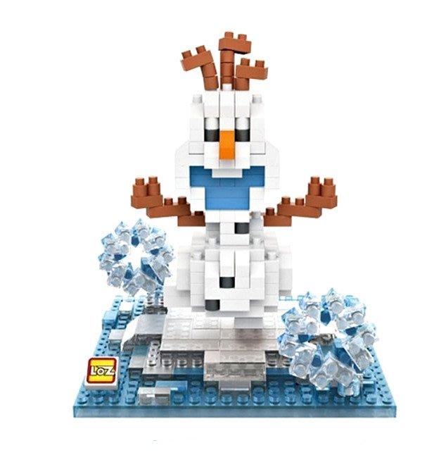 LOZ 鑽石積木 冰雪奇緣  雪寶 安娜  益智玩具 原廠正版