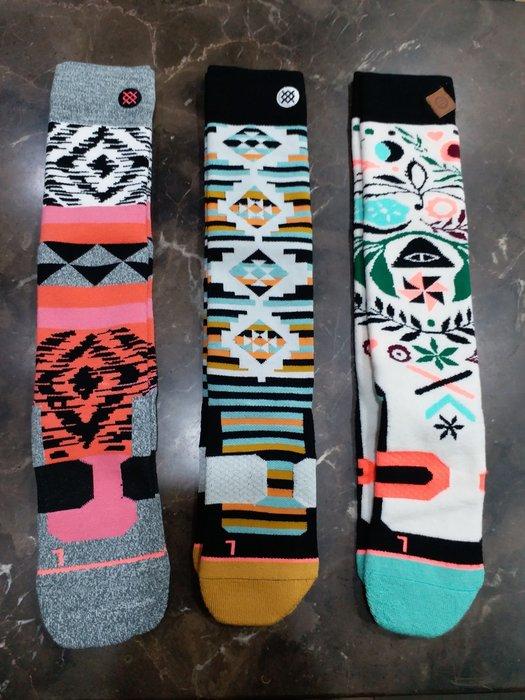【荳荳物語】美國品牌STANCE專業滑雪襪,夾鏈袋包裝,超值特價350元