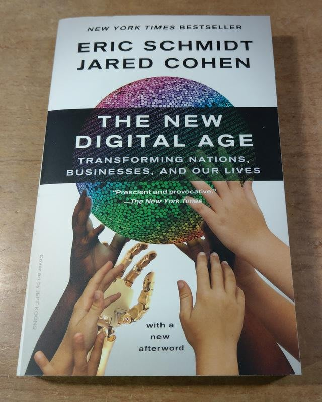The New Digital Age: Transforming Nations│9780307947055│七成新