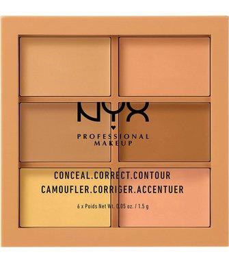 NYX Conceal, Correct, Contour Palette 6色遮瑕修容盤(預購)