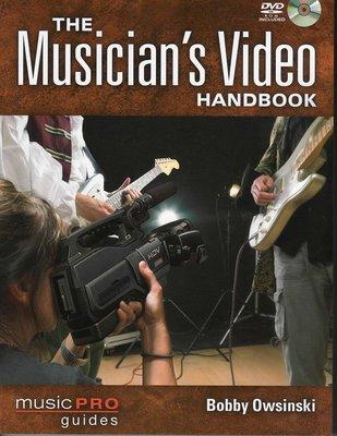 [ 反拍樂器 ]The Musician's Video HandBook進口教材(免運費)