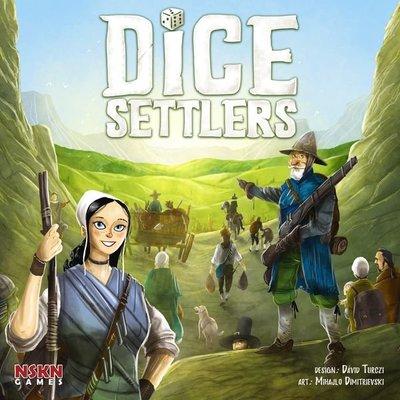 大安殿免運實體店面 Dice Settlers 骰子拓荒者 正版益智桌遊