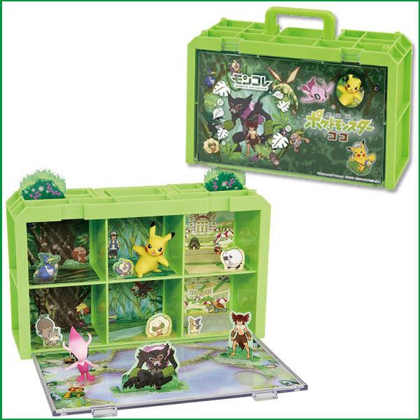 【台灣出貨 HAHA小站】PC16635 正版 寶可夢劇場版 可可 場景收納盒 Pokemon 精靈寶可夢 神奇寶貝提盒