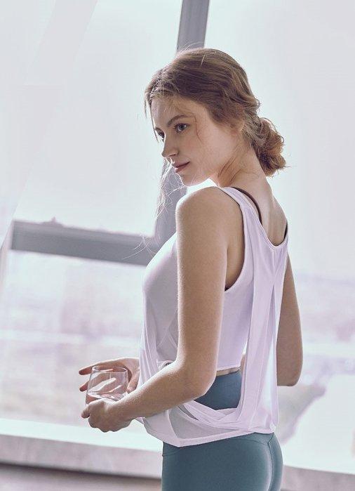 【路依坊】瑜伽罩衫 運動罩衫 韻律 跑步 慢跑 吸濕排汗 透氣速乾 不含內衣 長版背心 推薦 哪裡買 A1153