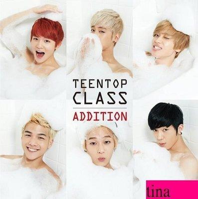 TEENTOP Mini Album Vol. 4  - Teen Top Class Addition(Repackage韓版迷你專輯重包版加收曲贈小卡全新