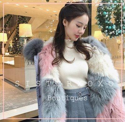 Sis KOREA style 甜美氣質名媛風 百搭超柔軟 袖口公主風 小高領針織衫 螺紋毛衣