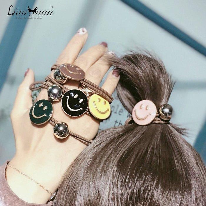 能當手鍊的頭繩女簡約韓國網紅皮筋髪繩頭飾品扎頭髪圈可愛髪繩韓版清新甜美 簡約 髮飾 髮箍 髮夾