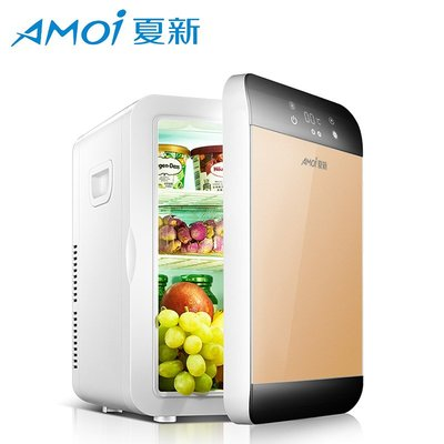 冰箱Amoi夏新25L迷你小冰箱冷凍小型宿舍車載家用寢室學生制冷單人用家用 台北市