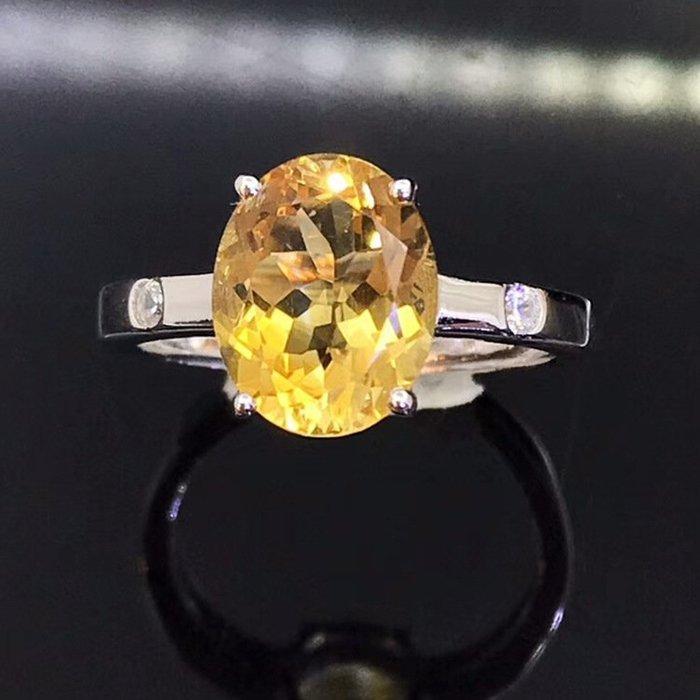 【爆款】戒指水晶s925歐美時尚彩寶指環手飾廠商批發金鑲嵌銀鍍時尚OL