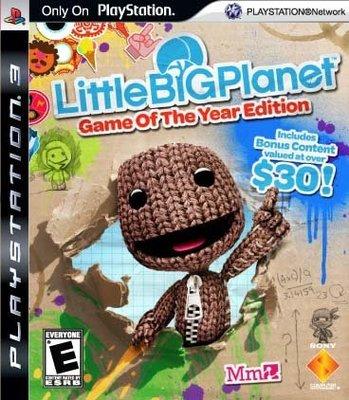 【二手遊戲】PS3 小小大星球 年度完整版 英文版 無盒 裸裝【台中恐龍電玩】